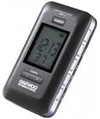 Radio digital Daewoo drp-18 black DAEDBF036