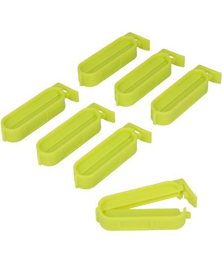 Metaltex juego 7 pinzas cierrabolsas pequeñas 295605 - logotiponuevoelectro