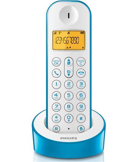 Tel. dect Philips d1201 azul/blanco D1201WA23 - 8712581719654