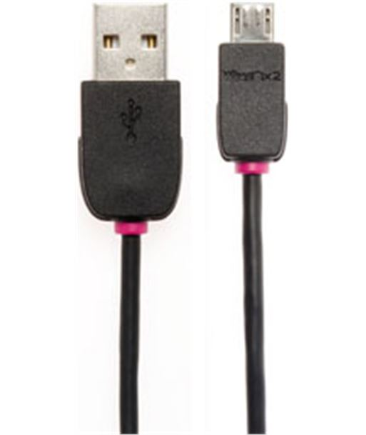 Tech+link cable micro usb (b)-usb (a) 2 mts 710232 - 5026271023208