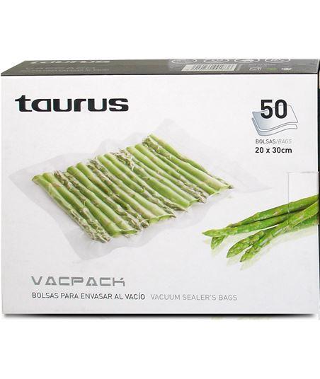 Taurus bolsas vacpack 50 u. (20 x 30 cm.) 999183