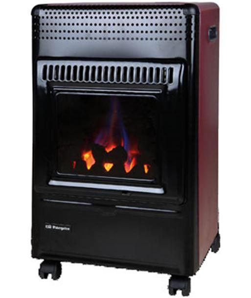 Estufa gas llama azul Orbegozo HBF95 fuego real Estufas Radiadores - 8436044529924