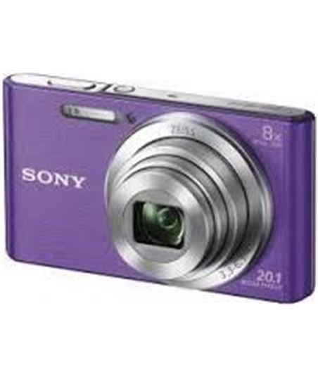 Cámara de fotos digital  Sony dsc-w830 violeta 20mp 8x KW830VBGSFDIYE