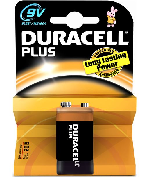 Duracel pila braun 9vmn1604plus, alcalina, 1 und., 6lr61 durmn1604k1 - 9VMN1604PLUS