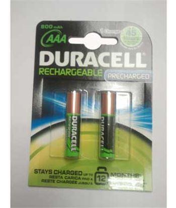 Duracel pack 2 pilas recargable aaa (lr03) duralock 800 lr03duralokb2