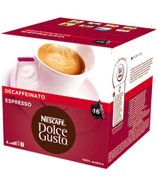 Bebida Dolce gusto espresso decaffeinato 12281252 Cápsulas - 07613031526437