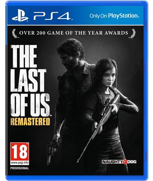 Sony juego ps4 the last of us remastered sps9407515 - 9407515
