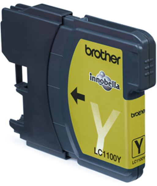 Tinta amarilla Brother dcp-385c/585cw/mfc5890cn BROLC1100YBP - BROLC1100YBP