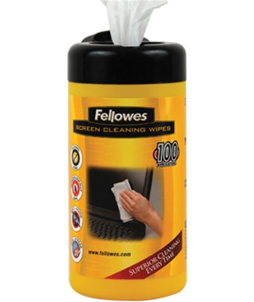 Fellowes toallitas limpiadoras de pantalla 99703 Perifericos y accesorios - FEL99703