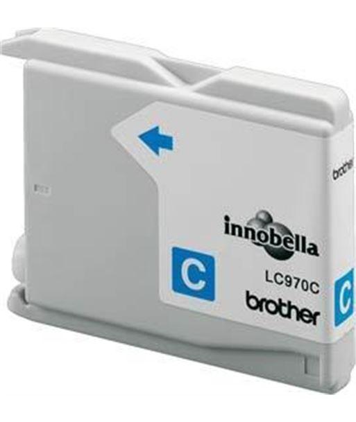 Tinta cyan Brother 135/235 LC970C Consumibles - 4977766649582