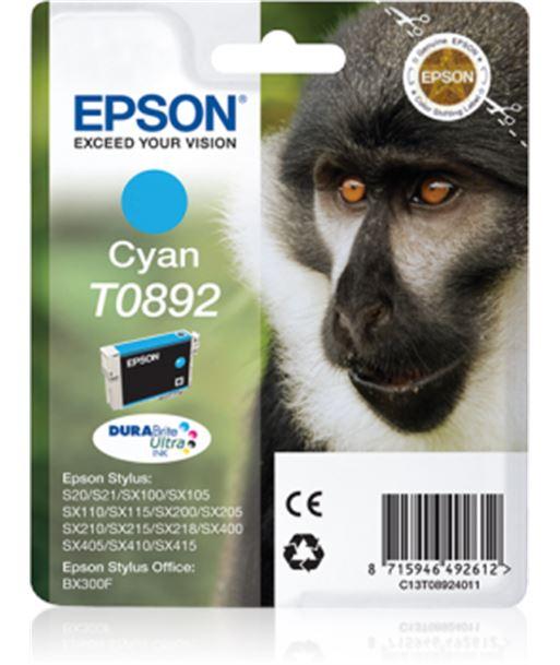 Tinta cian Epson .892. C13T08924011 Consumibles - 8715946492612