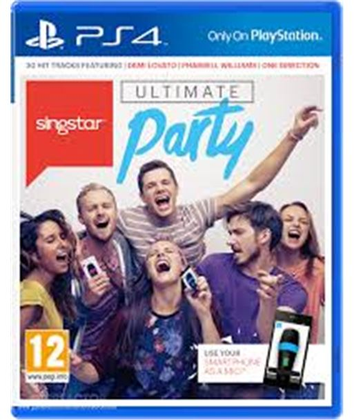 Sony juego ps4 singstar ultimate party 9459712 sps9459712 - 9459712