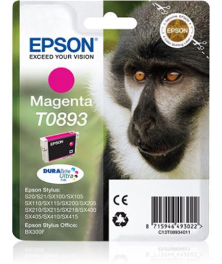 Tinta magenta Epson .893. C13T08934011 Perifericos y accesorios - 8715946493022