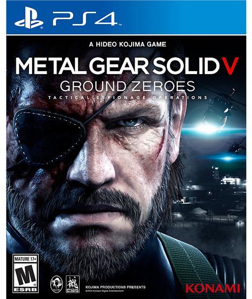 Konami juego ps4 metal gear solid 5: ground zeroes 100073 - 4012927100073
