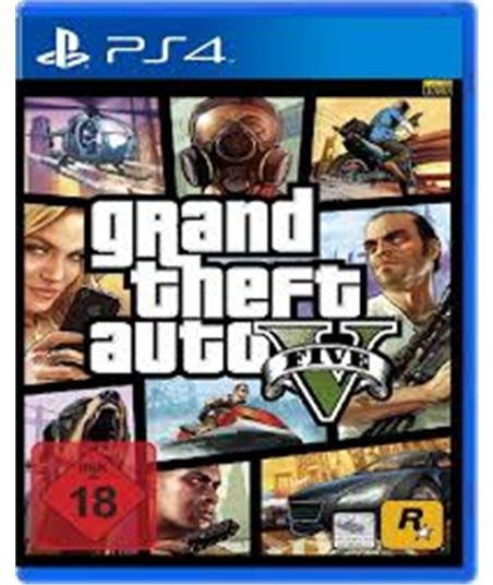 Take juego ps4 grand theft auto v gtavps4