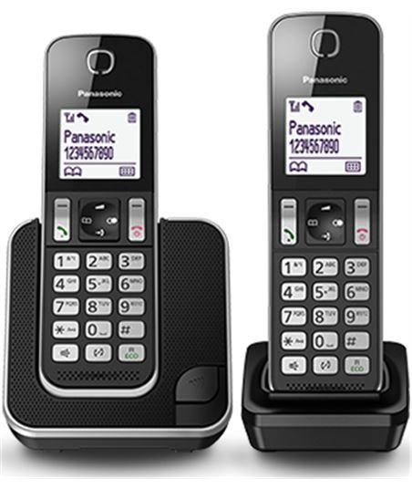 Panasonic telefono inalambrico pack 2 dect kxtgc312spb duo negro - KXTGC312SPB