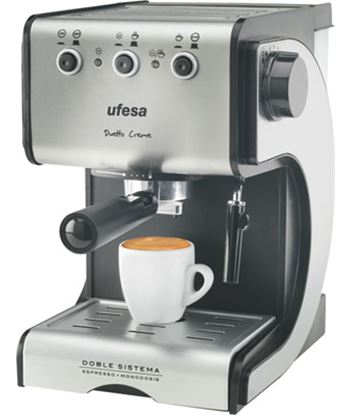 Cafetera expres Ufesa ce7141 dueto creme (1050w)