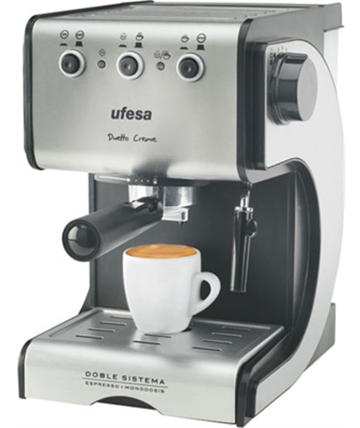 Cafetera expres Ufesa ce7141 dueto creme (1050w) UFECE7141 - CE7141