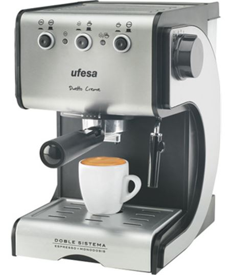 Cafetera expres Ufesa ce7141 dueto creme (1050w) - CE7141
