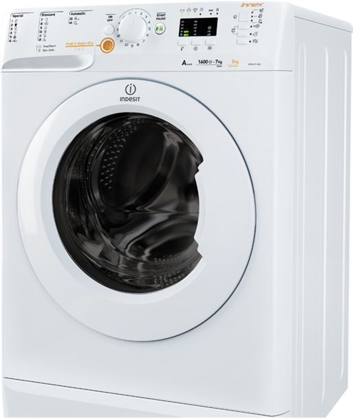 Indesit lavasecadora XWDA751680XWEU Lavadoras secadoras - 8007842855906