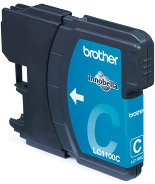 Tinta azul Brother dcp-385c/585cw/mfc5890cn LC1100CBP - BROLC1100CBP