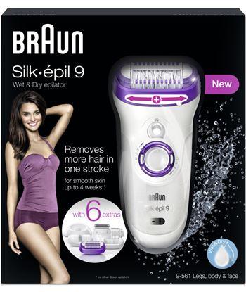 Silkepil Braun depiladora 9561 silk epil 9