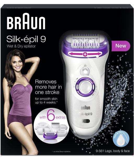 Silkepil Braun depiladora 9561 silk epil 9 9561BRONZE - 4210201109051