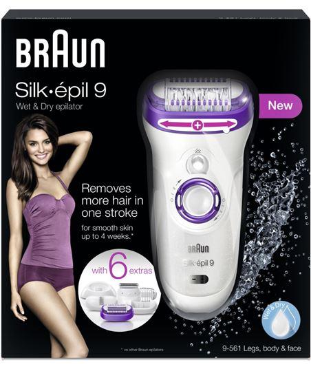 Silkepil Braun depiladora 9561 silk epil 9 - 4210201109051