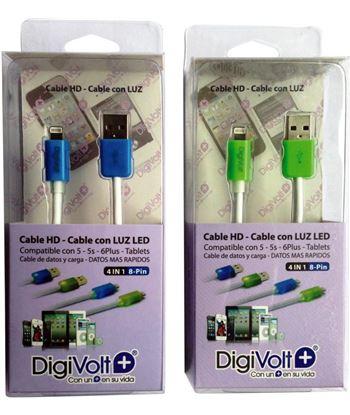 Digivolt CB-8205L cable hd con led para ip5/6 8205l (200) cb8205l - CB-8205L
