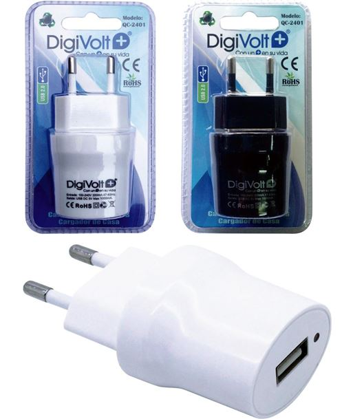 Digivolt cargador universal usb casa 2401 (200/c) qc2401 - QC-2401