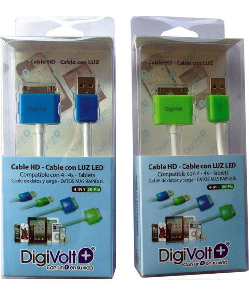 Digivolt cable hd con led para ip4 8204l (200) cb8204l - CB-8204L