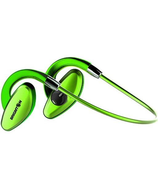Brigmton auricular deportivo bluetooth verde bml07r - 05155724