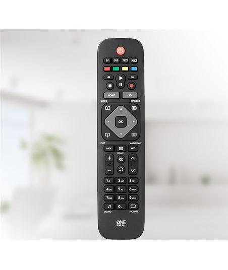 Mando universal One for all 111913, para tv philip urc1913 - 8716184059841