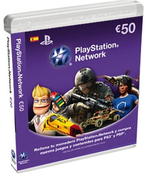 Sony 9893837 tarjeta de puntos para ps3/psp de 50 euros - 9893837