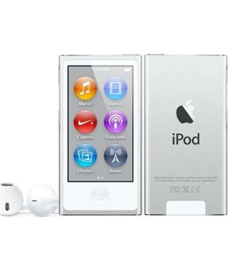 Apple Ipod nano 16gb plata MKN22QL_A - IPODMKN22QL_A