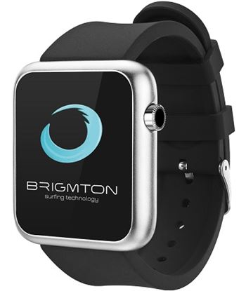 Brigmton reloj smartwatch bt3 negro bwatch_bt3_n BRIBT350B - BWATCH_BT3_N