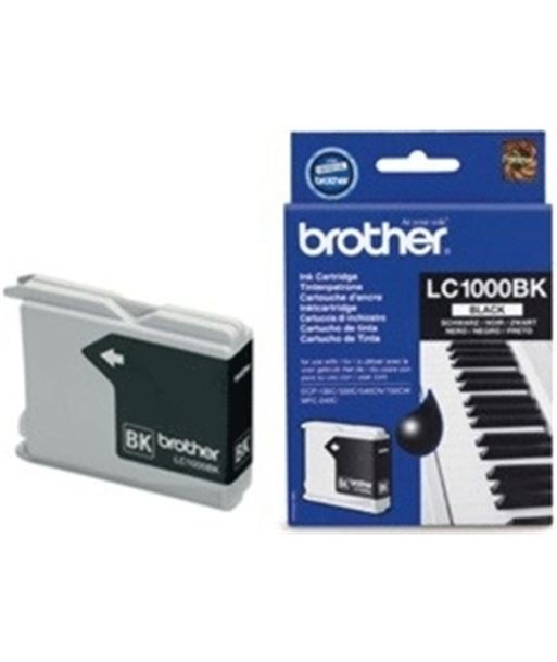 Tinta negra Brother 240/440/465/350 LC1000BK Consumibles - BROLC1000BK