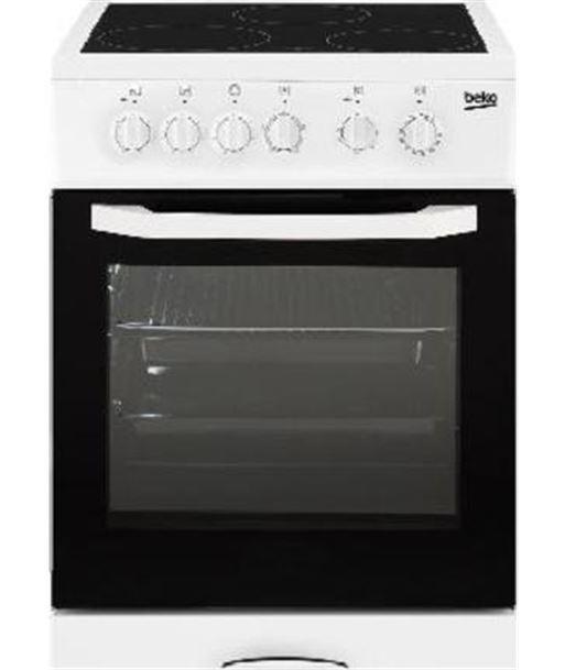 Beko cocina convencional electrica CSS48100GW Vitrocerámicas polivalentes - CSS48100GW