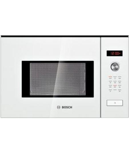 Microondas integrable  Bosch hmt75m624 cristal blanco - HMT75M624
