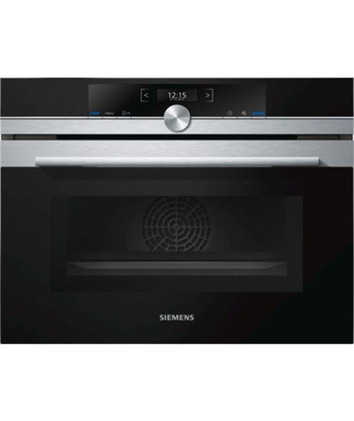Siemens CM633GBS1 horno compacto multifuncion con microondas negro - 4242003658345