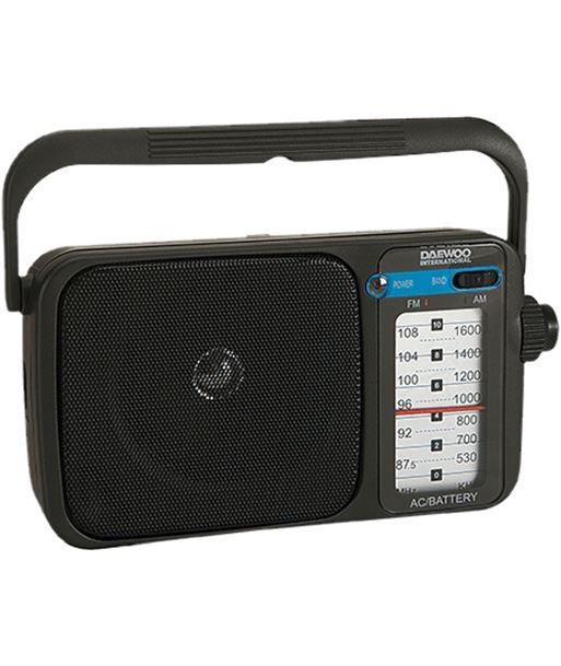 Daewoo radio negro drp-123 DRP123 - 8413240584810