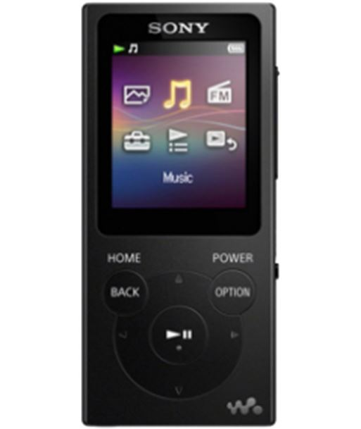 Sony reproductor mp4 negro NWE393B mp3, mp4 y mp5 - NWE393B