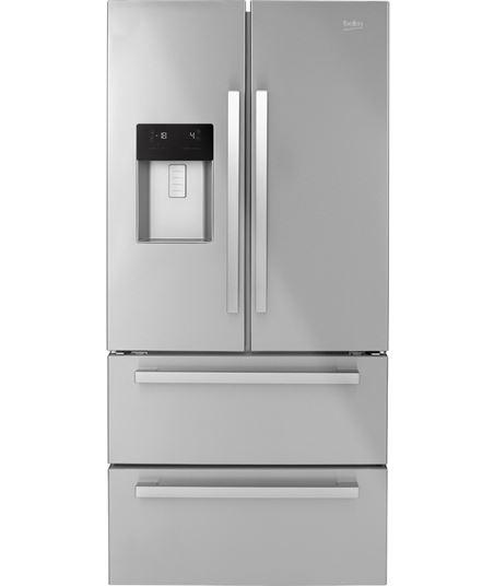Beko frigorifico side by side americano no frost inox gne60530dx