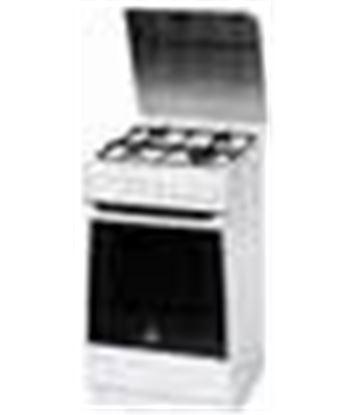 Cocina gas Indesit KN1G2SXW
