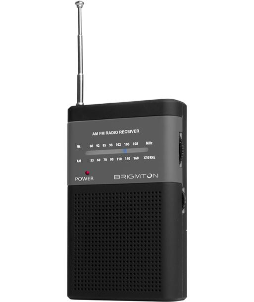 Brigmton radio portatil bt350n negro BRIBT350N - BT350N