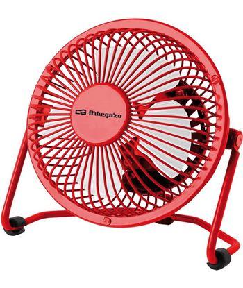 Orbegozo ventilador mini rojo pw 1021 ORBPW1021 Ventiladores - 8436044533563