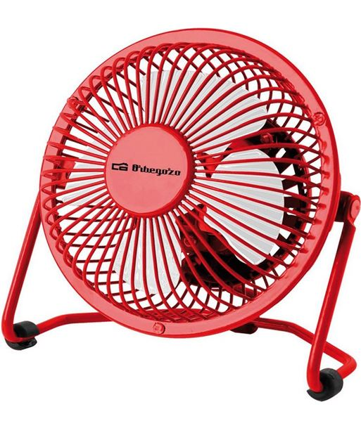 Orbegozo ventilador mini rojo pw 1021 ORBPW1021 - 8436044533563