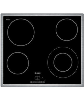 Placa vitro Bosch PKF645B17E 4f 60cm inox Vitrocerámicas independientes - PKF645B17E