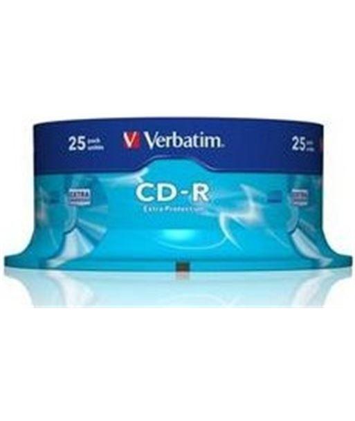 Bobina 25 cd's Verbatim 80m 52x VERCDR80_25 - 023942434320