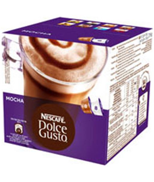 Cafe mocha (moka) Dolce gusto 12120147 combinado - 12120147CAIXA